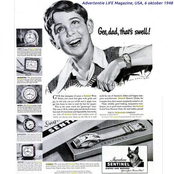 Timexman - Ingraham Sentinel Cameo 1948
