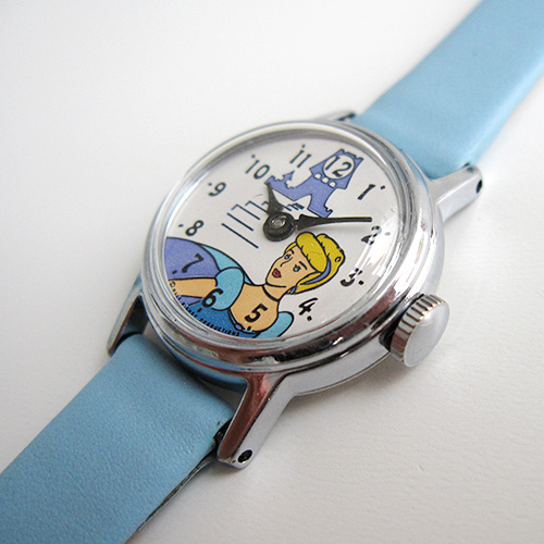 Timexman Timex Character Cinderella 1971