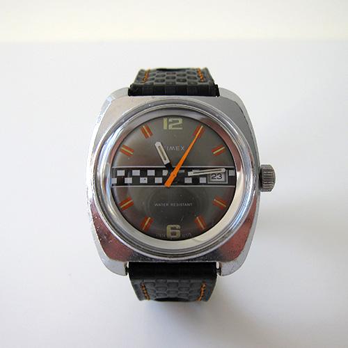 Timexman - Timex Marlin Calendar 'Chequered Flag' 1975