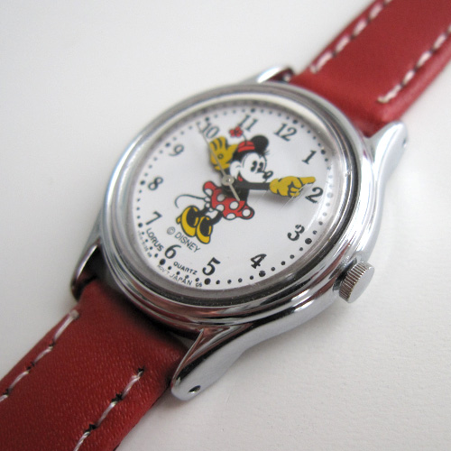 Minnie Mouse Horloge Lorus Quartz