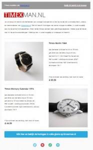 timexman.nl - printscreen nieuwsbrief