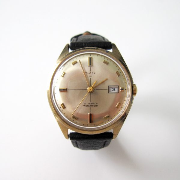 timexman Timex 21 Jewels 'Crosshair' 1969