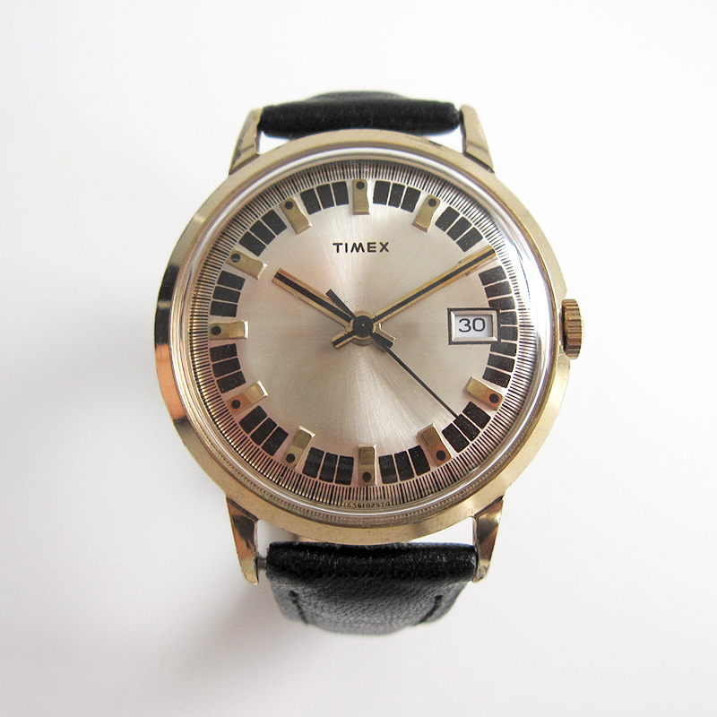Timex Mercury Calendar 1974
