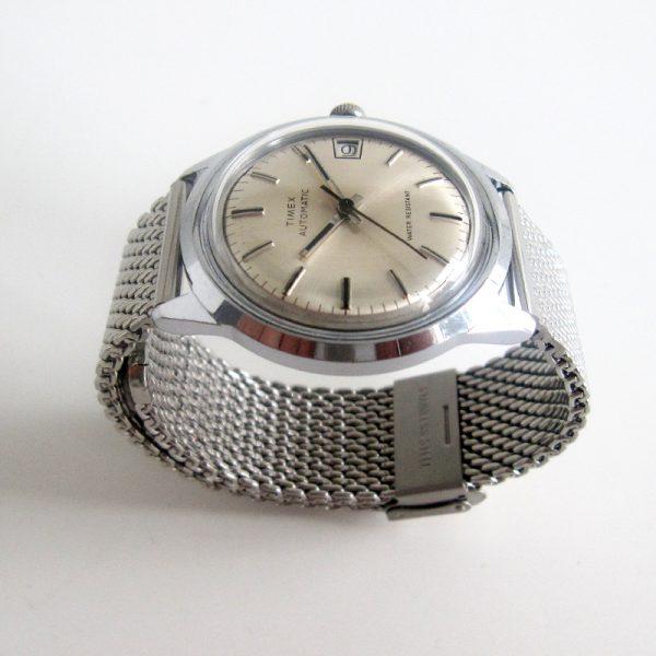 timexman Timex Viscount Calendar 1979 mesh