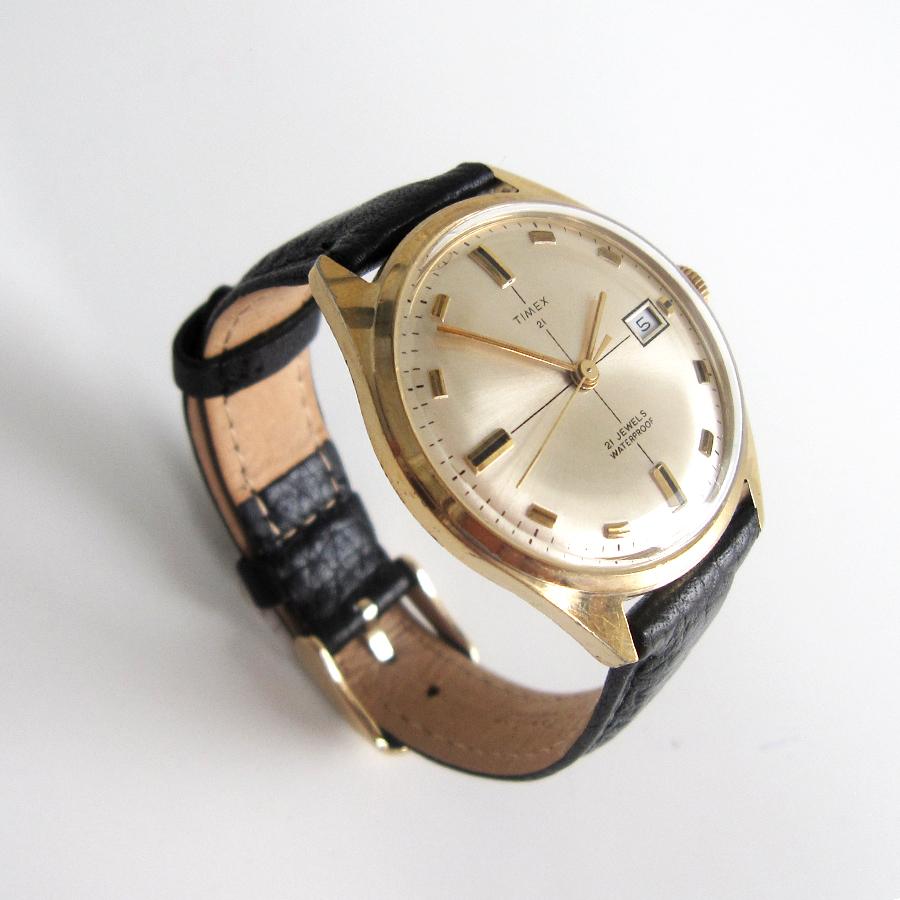 Timex 21 Jewels Calendar 1970