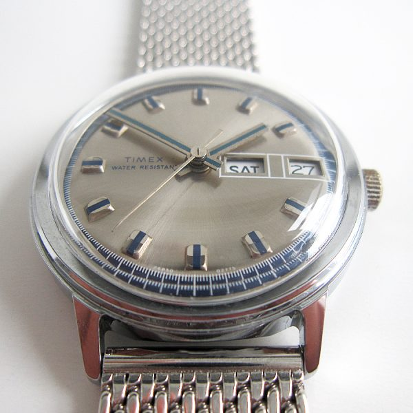 Timex Marlin day date 1975